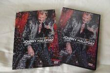 JOHNNY HALLYDAY DVD DANS ETUI CARTON FLASHBACK TOUR 2006 + KDO