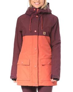 DC Shoes Women's Cruisier 10K Snowboard Jacket Tailored Fit Size M