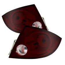 Chevy 05-10 Cobalt 07-08 G5 05-06 Pursuit 4dr Sedan Red Smoke Tail Lights Set
