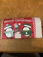 Christmas Gift Box Mailbox Large