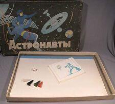 Game Desktop Space Astronaut Children Toy Old Vintage Soviet Russian Board