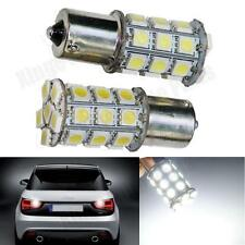 2X White 27SMD S25-1156 5050 BA15S R5W Car Single Contact Motorcy Lamp Turn Ligh
