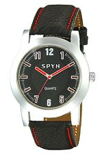 SPYN L009 Leather Wrist Watches for men Women boys girls. Watches
