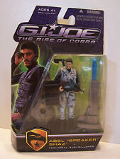 G.I. Joe Gijoe Rise Of Cobra Abel Breaker Shaz MOC 2009