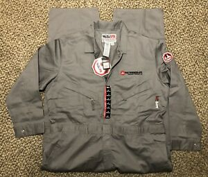 WALLS FR Fire Flame Resistant HRC2 ATPV 9.6 2112 Grey Work Oilfield Coveralls 50