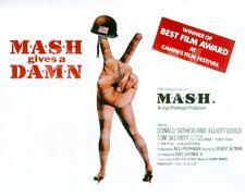 """Mash M*A*S*H M.A.S.H (1970) """"Poster"""" 10x8 Photo"""