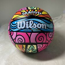 Wilson Graffiti Official Size and Weight Volleyball Beach Recreation Outdoor Fun