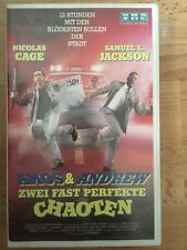 Amos & Andrew Zwei fast perfekte Chaoten VHS Kassette