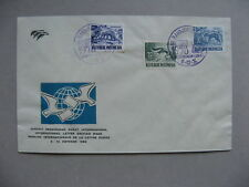 INDONESIA, eventcover 1958, Int. letter writing week