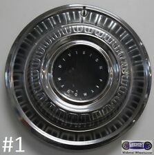 "'69 PLYMOUTH, 15"",USED HUBCAP,DOME TYPE W/O RECESSED CENTER, 570-00346, 2881750"