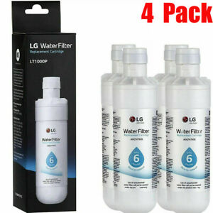 4 x ADQ747935 200Gallon Capacity Replacement Refrigerator Water Filter LT1000P