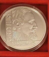 25 Ecu  Niederlande 1995 Grotius 925 Silber