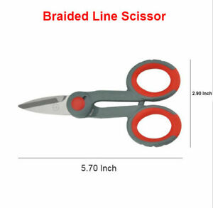Lures Pro Braided Line Cutter Scissor