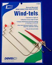 Davis Shroud Mounted Wind-tels -Wind Indicators -  Qty 2 - New -  Yacht - AS33