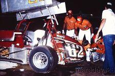 Vintage 1983 #62 Sprint Car World of Outlaws WOO Sprint 35mm slide