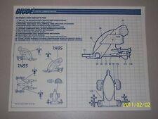 Joe 1988 TRU Night Striker Raider Blaster /& Scrambler Inst. Storm Shade G.I