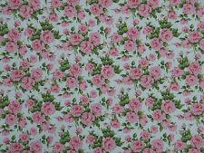"Liberty Tela de algodón popelín Diseño ""Little Carline"" 2 metros (200 Cm) Rosa"