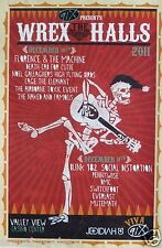 "BLINK 182/SOCIAL DISTORTION/PENNYWISE ""WREX THE HALLS"" 2011 CONCERT TOUR POSTER"