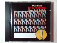 OTIS REDDING The great sings soul ballads cd BOOKER T. JONES SAM COOKE GERMANY