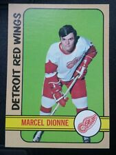 1972-73 Topps Detroit Red Wings Great Maccel Dionne Card 18