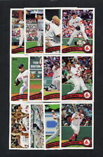 2011 Topps Baseball Boston Red Sox TEAM SET w/ Update MINT