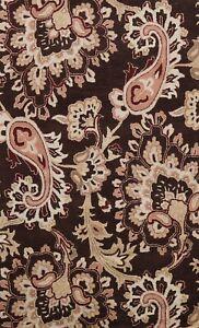 5'x8' Floral Transitional Oriental Area Rug Hand-tufted Home Decor Wool Carpet