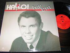 PETER KRAUS Hallo! / German LP 1986 POLYDOR 831190-1