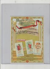 2010 TOPPS ALLEN & GINTER BASEBALL CABINETS CARD #NCCB4  FIRST TRIO OF TEAMMATES