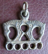 Authentic Ancient Artifact   Viking Zoomorphic Pendant VK80