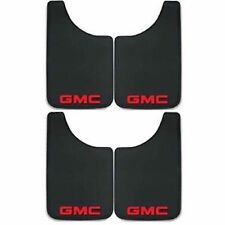 4PC GMC LOGO 9X15 MUD SPLASH GUARDS FLAPS TRUCKS SUVS NEW FREE SHIPPING USA