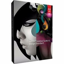 Adobe Photoshop cs6 Illustrator InDesign, Bridge, Acrobat X PRO V