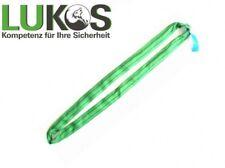 Rundschlinge / Doppelmantel Tragfähigkeit 2000kg grün SHZ EN 1492 Nutzlänge 2,0m
