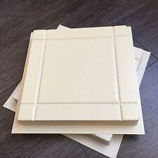 3 pc Plastic Molds for Concrete - Pavers Cement Forms