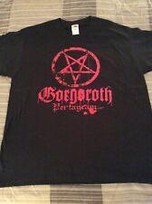 GORGOROTH Pentagram Shirt XL, Aosoth, The Chasm, Ulver, Inquisition, Arcturus