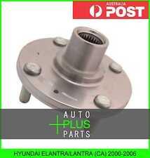 Fits HYUNDAI ELANTRA/LANTRA (CA) 2000-2006 - Front Wheel Bearing Hub