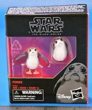 "Star Wars The Black Series 6"" Hasbro The Last Jedi PORGS figures MIB sealed"