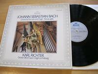 LP Bach Dorische Toccata & Fuge  Richter Orgel Freiberg Vinyl 2533 441 Archiv