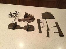 Vintage Louis Marx Johnny West Accessories Horse 7 Accessories Saddle Bags