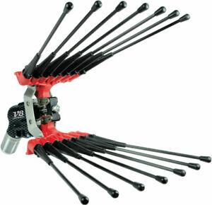 Abbacchiatore pneumatico Lisam V8 Carbon scuotiolive ad aria compressa