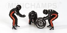 Pit Stop Crew Set Minardi Change Back Tyre 1:18 Model MINICHAMPS
