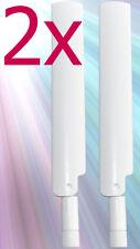 2x Antenne Stabantenne für Telekom Speedport LTE II 2 Huawei B593s-12 Router