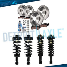 14pc Front Rear Brake Rotor Ceramic Pad Strut Assembly for Expedition Navigator