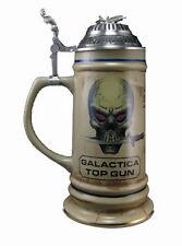 Battlestar Galactica - Stein Krug mit Metall Deckel Galactica TOP GUN - neu ovp