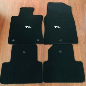 2009-2014 Acura TL Black Carpet Floor mats OEM FWD