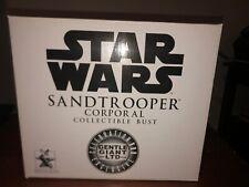 Gentle Giant Sandtrooper Corporal Celebration III Exclusive Bust /2500 Star Wars