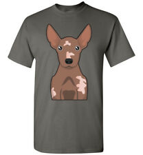 Xoloitzcuintli / Mexican Hairless Dog Cartoon T-Shirt, Men Women Youth Tank Long