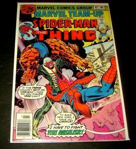 Marvel Team-Up #47 - Spider-Man - Thing - Marvel Comics (1976) 9.6 NM+