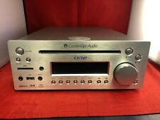 Cambridge Audio One DX1 All In One Music System Silver - DAB CD USB SD