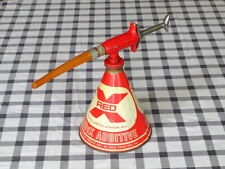 More details for vintage redex additive oil can fuel can automotive theme cafe garage