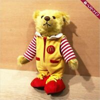 Only 1500 Mcdonald Steiff Teddy Bear Plush Doll Stuffed Toy 2004 Japan Limited